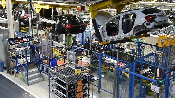 Im Daimler-Werk von Rastatt.