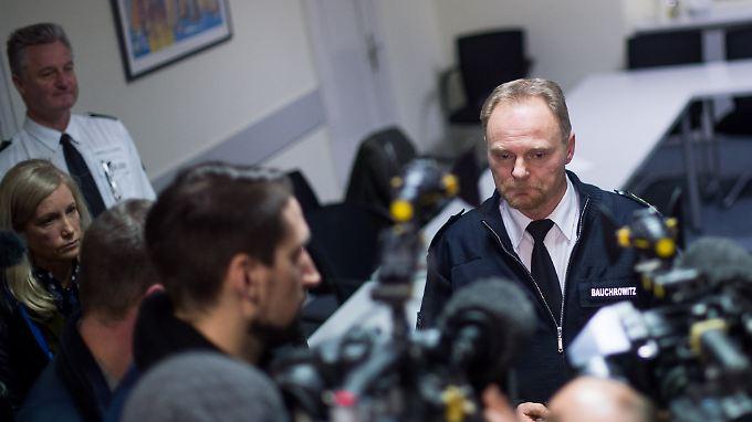 Thomas Bauchrowitz, Leiter der Polizeidirektion in Kiel, äußerte sich zum Kindesmissbrauch.
