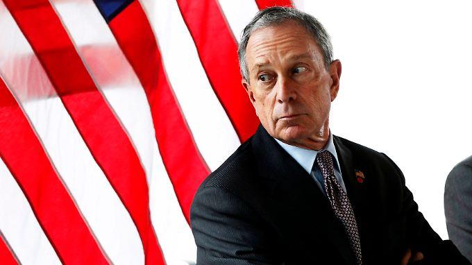 """""""Ich finde das Niveau des Diskurses und der Diskussion beunruhigend banal"""", sagt Bloomberg."""