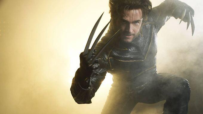 """Gegen den Krebs ist selbst """"Wolverine"""" machtlos: Hugh Jackman in seiner """"X-Men""""-Paraderolle."""