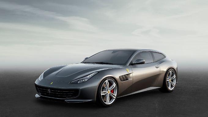 Der Ferrari GTC4 Lusso wird in Genf sein Debüt feiern.