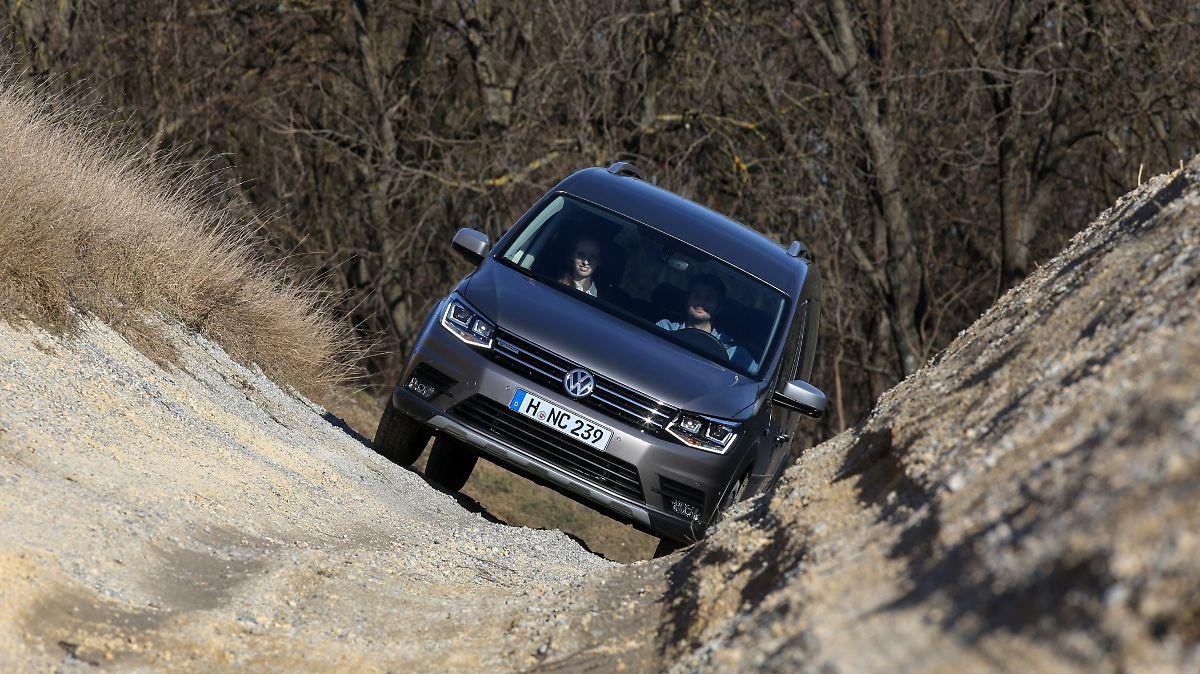 Mit dem Alltrack macht VW den Caddy schick