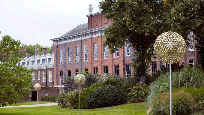 Der Kensington-Palast ist die Londoner Residenz von Prinz Wiliiam und seiner Frau Kate.