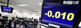 Analysten bestaunen Minuszeichen: Japan-Bonds erzielen Negativ-Rendite