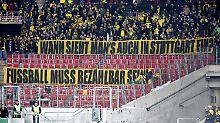 ++ Fußball, Transfers, Gerüchte ++: BVB-Fans protestieren gegen Ticketpreise