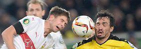 Stuttgarts Serie endet im Pokal: BVB kämpft sich zum Halbfinal-Hattrick