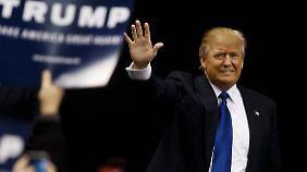 Revolution aus der Konserve: Donald Trump.