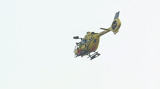 """""""Lässt sich im Vorfeld so nicht trainieren"""": Zugunglück in Bad Aibling verlangte Hubschrauber-Teams alles ab"""