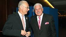 Beste Kumpels: Franz Beckenbauer und Fedor Radman