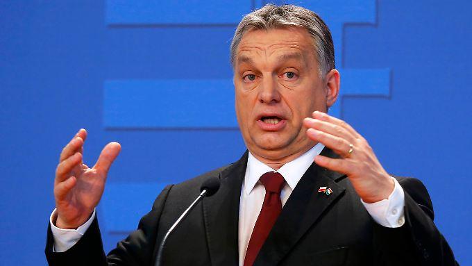 Orban will es nach eigenen Worten nicht zulassen, dass je wieder Flüchtlinge durch sein Land ziehen.
