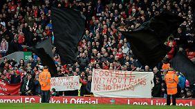 Streit um Ticketpreise: Fans bringen Liverpool zum Einlenken