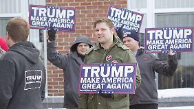 Familie, Helfer und Geld: US-Republikaner kämpfen mit allen Mitteln um Stimmen