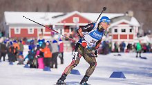 Biathlon-Sprint in den USA: Lesser verpasst Podest ganz knapp