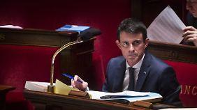 Manuel Valls sieht Bodentruppen als Notwendigkeit.