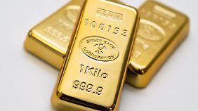 Gibt es in echt und als Wertpapier: Gold.
