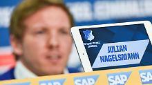 TSG zum Abstiegsduell in Bremen: Debütant Nagelsmann trotzt großem Druck