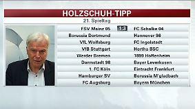 """Holzschuh tippt den Spieltag: """"Hoffenheimer können nur beten, dass sie die Klasse halten"""""""