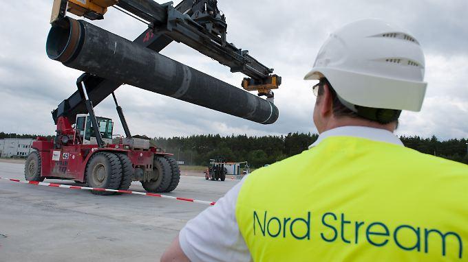 Nord Stream 2 führt um die Ukraine, die baltischen Staaten und Polen herum.