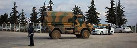 Bürgerkrieg in Syrien: Türkei erwägt Entsendung von Bodentruppen