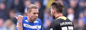 Heidenheim bleibt heimschwach: Duisburg taumelt weiter Richtung 3. Liga
