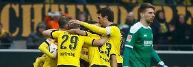 Wolfsburg beendet schwarze Serie: BVB ringt H96 nieder, VfB stoppt Hertha