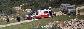 Mehrere Attacken auf Soldaten: Sechs palästinensische Angreifer erschossen