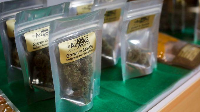 In vielen Staaten der USA boomt der Verkauf von Marihuana und Cannabisprodukten.