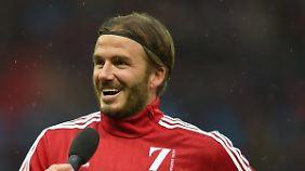 David Beckham will 2018 in den USA mit einem eigenen Team an den Start gehen,