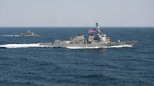 US-Zerstörer im Südchinesischen Meer: Präsident Obama will auch die Marine-Fähigkeiten der Anrainerstaaten stärken.