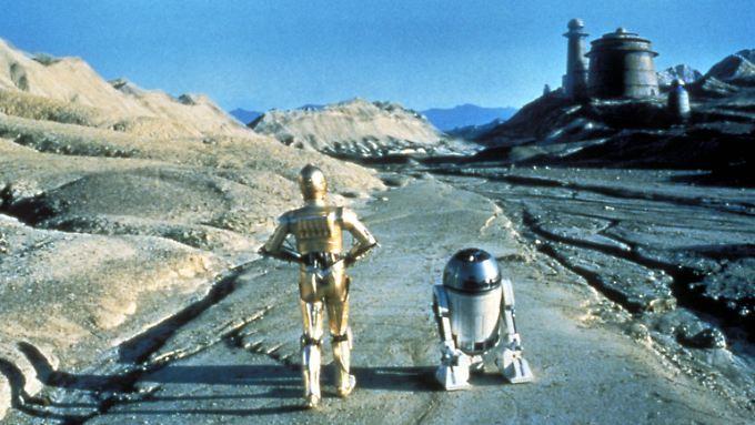 """Das Droiden-Duo C-3PO und R2D2 kann man auf der Platte """"Star Wars Headspace"""" hören."""