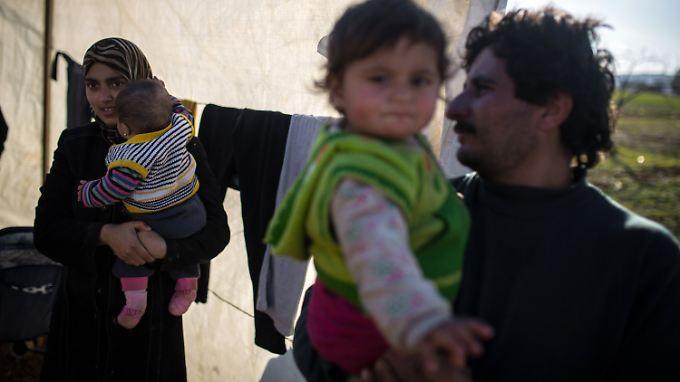 Diese syrische Familie fand in der Türkei Zuflucht vor dem Krieg in ihrer Heimat.
