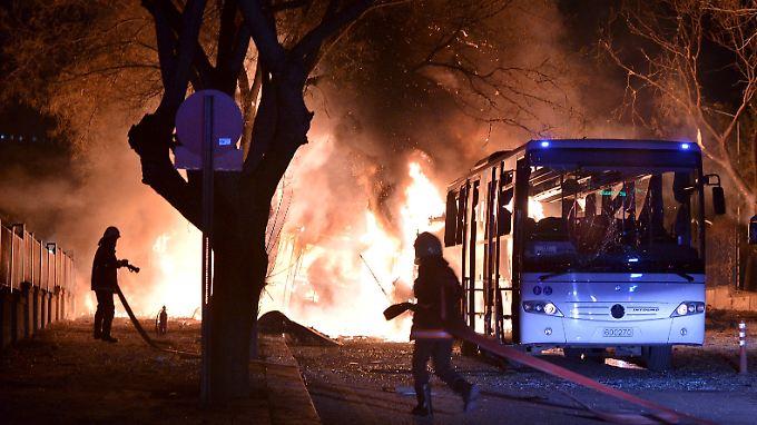 Mit einer Autobombe soll der Anschlag verübt worden sein.