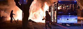 Regierungschef sagt Brüssel-Reise ab: Autobombe in Ankara reißt 28 Menschen in den Tod