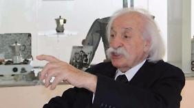 Renato Bialetti war bekannt für seinen Schnauzbart.