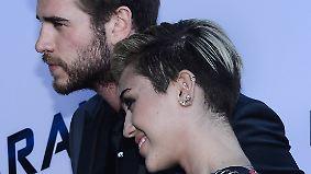 Promi-News des Tages: Hat Miley Cyrus heimlich Ja gesagt?