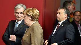 EU-Gipfel in Brüssel: Fronten in der Flüchtlingsfrage bleiben verhärtet
