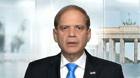 """Israelischer Botschafter in Berlin: """"Ziel ist, eine Zwei-Staaten-Lösung zu erreichen"""""""