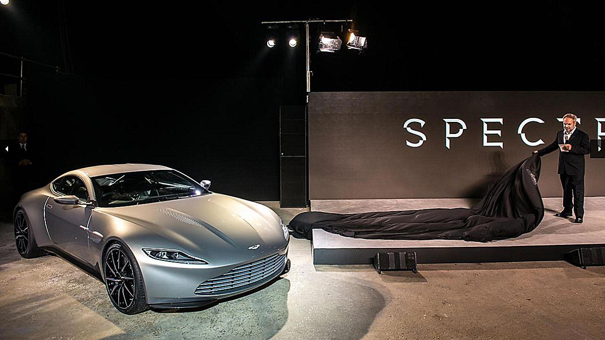 3 1 millionen f r den db10 aston martin von 007 vertickt. Black Bedroom Furniture Sets. Home Design Ideas