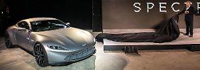 """Das Leben des Aston Martin DB10 in """"Spectre"""" war kurz."""