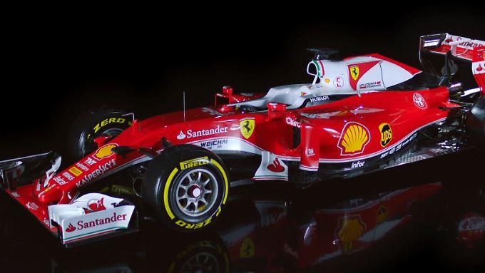 """Schnieke, der """"Neue"""" von Sebastian Vettel."""