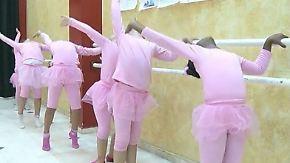 Kinder des Kriegs im Gazastreifen: Ballett lässt Mädchen die Schrecken des Alltags vergessen