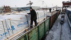 Forderung nach Aufhebung der Santktionen: Deutsche Exporte nach Russland brechen um Hälfte ein