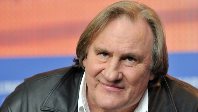 Gerard Depardieu präsentiert zwei Filme in Berlin.