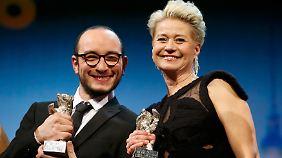 Sie sind die besten Darsteller: Trine Dyrholm und Majd Mastoura.