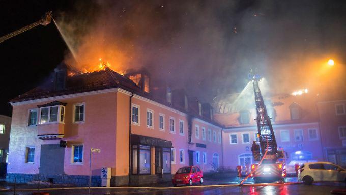 Im sächsischen Bautzen wurde im Februar eine geplante Flüchtlingsunterkunft in Brand gesetzt.