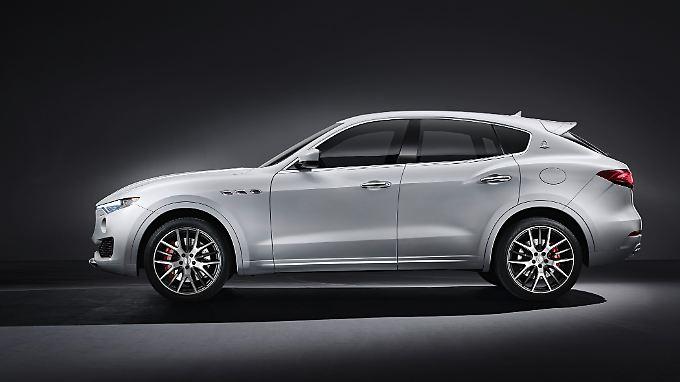 Der Levante ist der erste seiner Art aus dem Maserati-Stall.