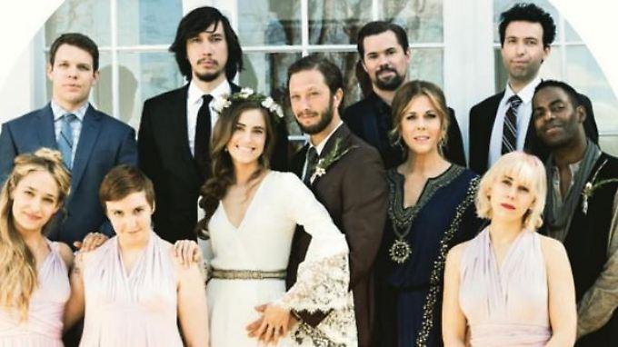 Lächeln bitte: In der ersten Folge der fünften Staffel heiratet Marnie (Allison Williams).