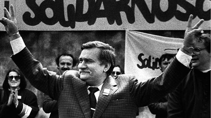 Lech Walesa hat den politischen Wandel Polens hin zu einer demokratischen Markwirtschaft organisiert.