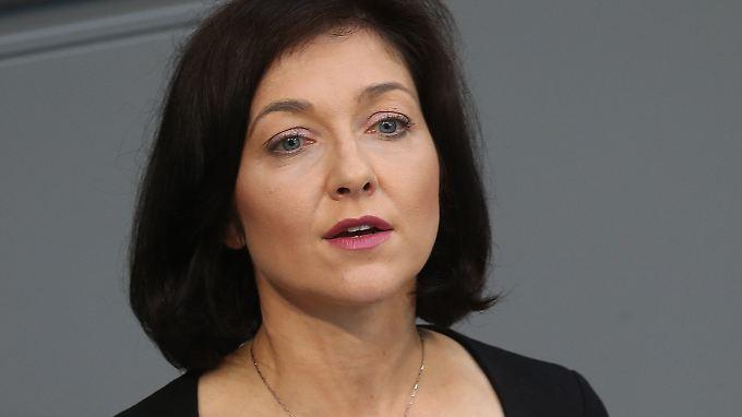 Die ehemalige CDU-Bundestagsabgeordnete Katherina Reiche führt seit einem halben Jahr den Stadtwerkeverband.