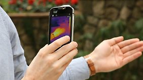 Smartphone kann tauchen und stürzen: Wärmebildkamera macht Cat S60 einzigartig